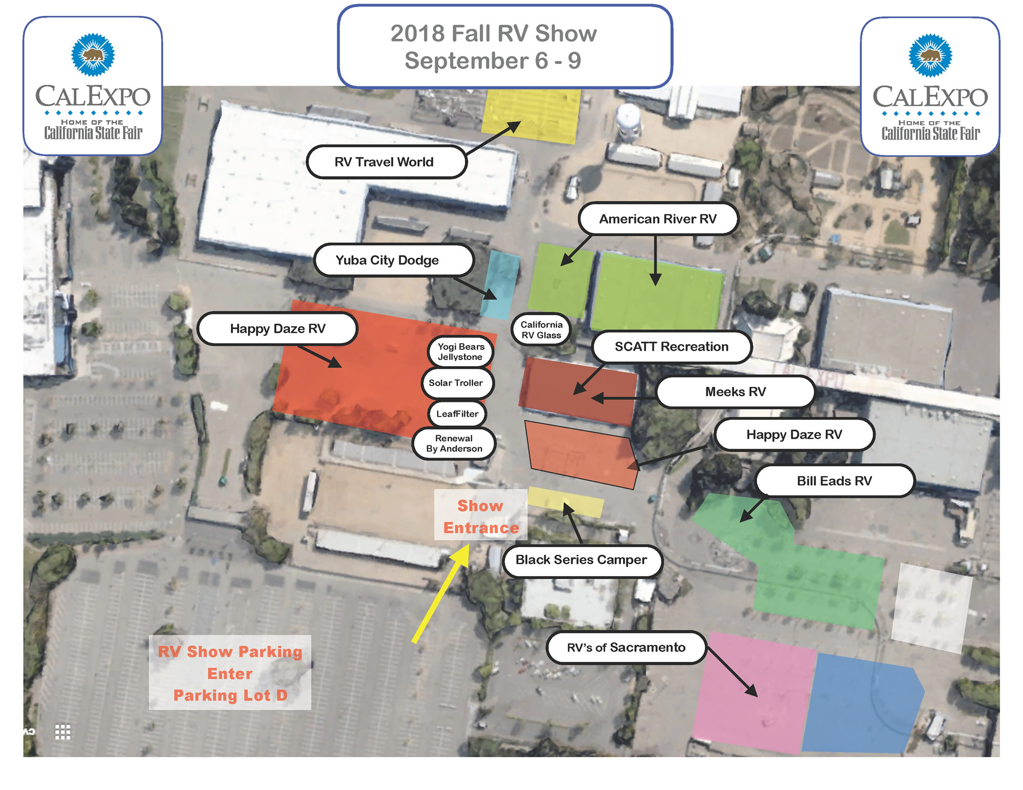 RV Show Fall 2018 Layout